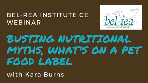 Busting Nutritional Myths, What's on a Pet Food Label